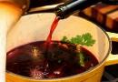 Рецепт со вино кој го подобрува варењето на храната