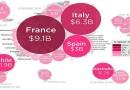 Како изгледа најновата светска винска карта