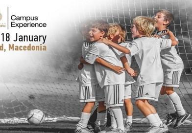 Почна пријавувањето за кампот на Реал Мадрид во Македонија