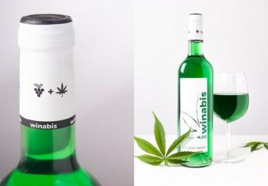 Сте ли за чаша зелено вино со масло од канабис?