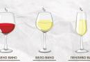 Колку вино треба да сипите во чашата?