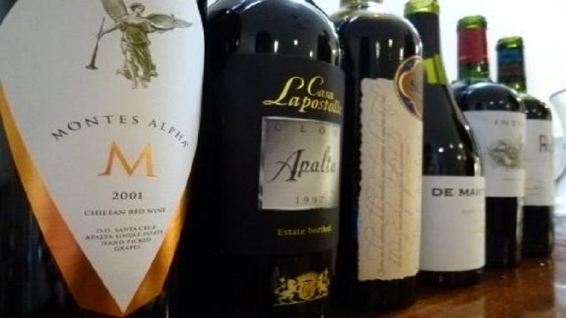 Chilean-wine-lineup