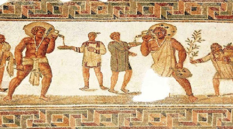 Roman_mosaic
